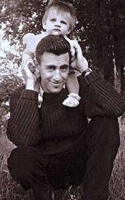 Salinger with his daughter Margaret