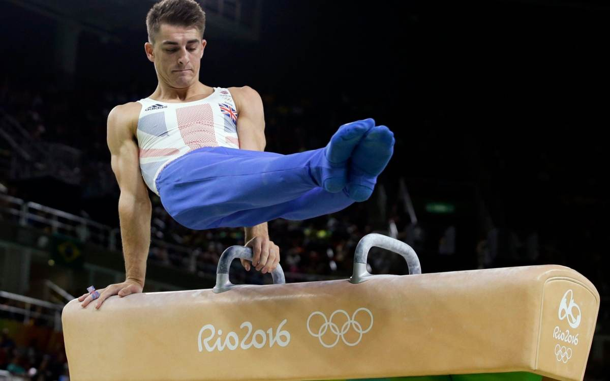 Max Whitlock has pommel and floor titles to defend