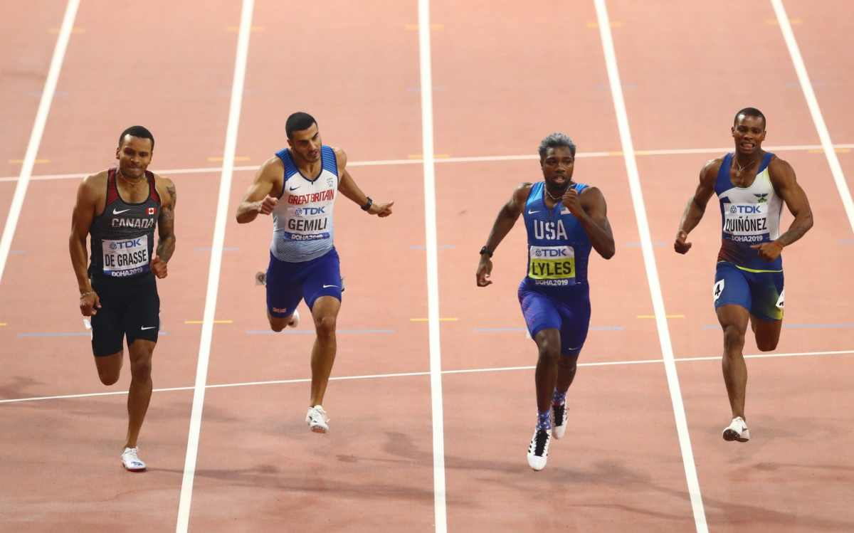 American 200m world champion Noah Lyles is tipped to add Olympic silverware in Tokyo