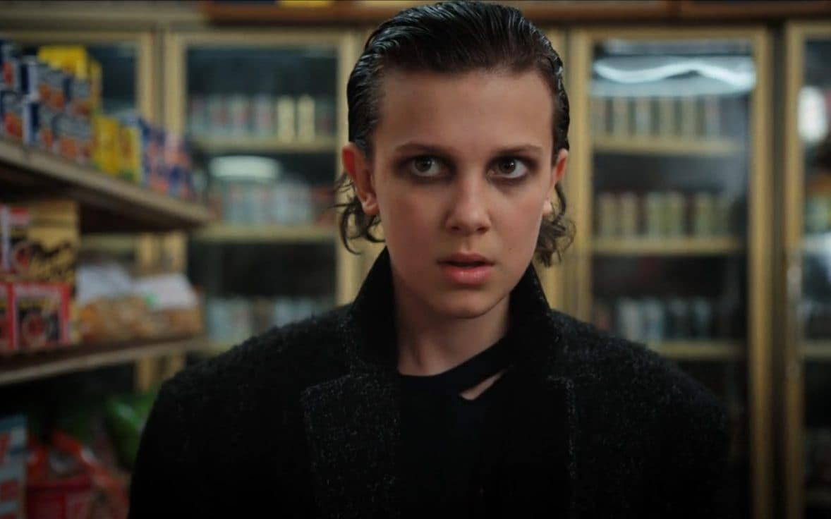 Image result for stranger things 2 punk eleven