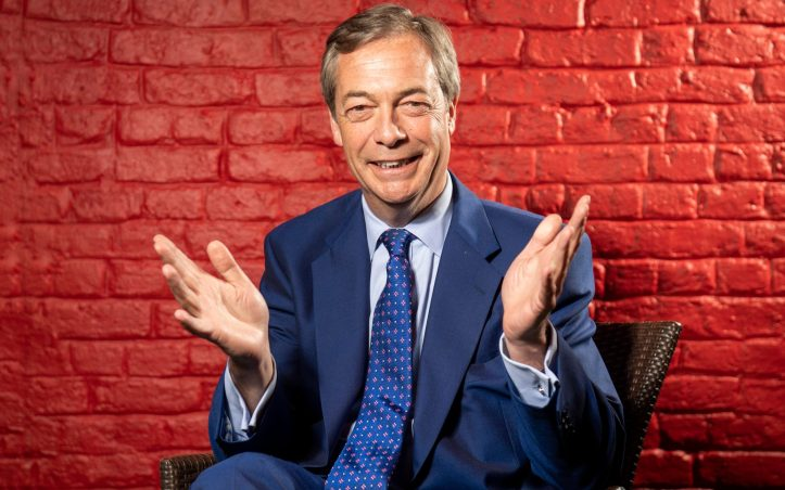 The poll found Nigel Farage's party would make major political inroads in Parliament