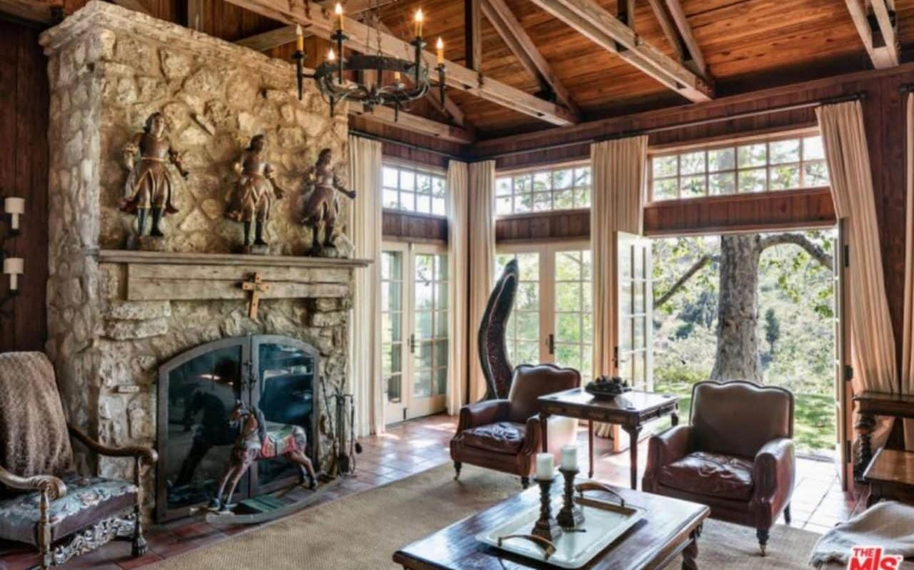 Look inside Mel Gibsons Medievalinspired Malibu home