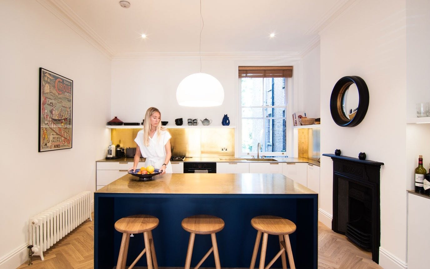 new kitchen cabinets west palm beach brass countertops and bold colours the trends for show architect bradley van der straeten used worktops splashbacks