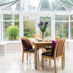 Solid Wood Kitchen Table White Set Is It Time To Upgrade Your Conservatory?