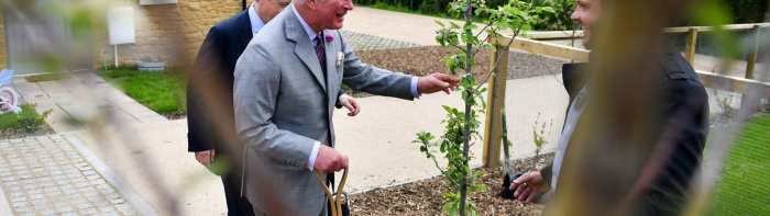 Prince Charles is a lifelong champion of the environment
