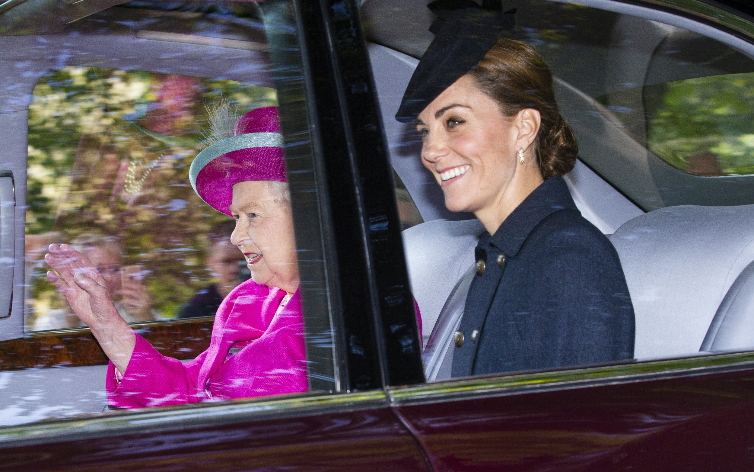 Duke And Duchess Of Cambridge Join The Queen For Family