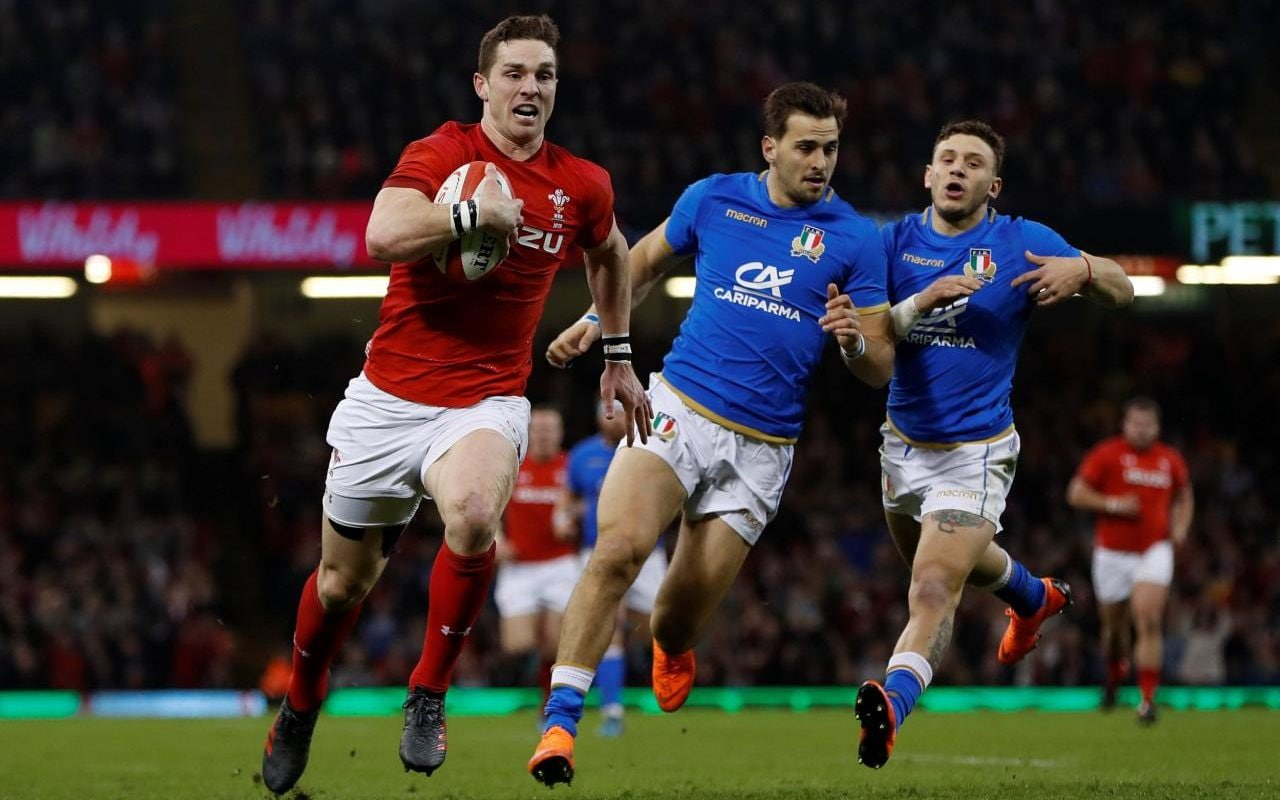 Wales 38 Italy 14 George North scores brace against sorry