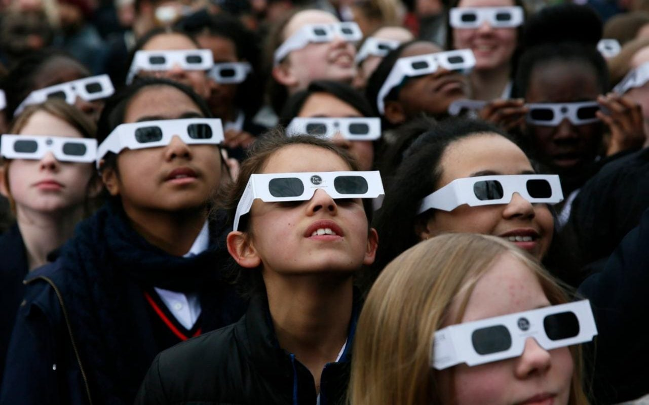 How To View The Solar Eclipse Safely