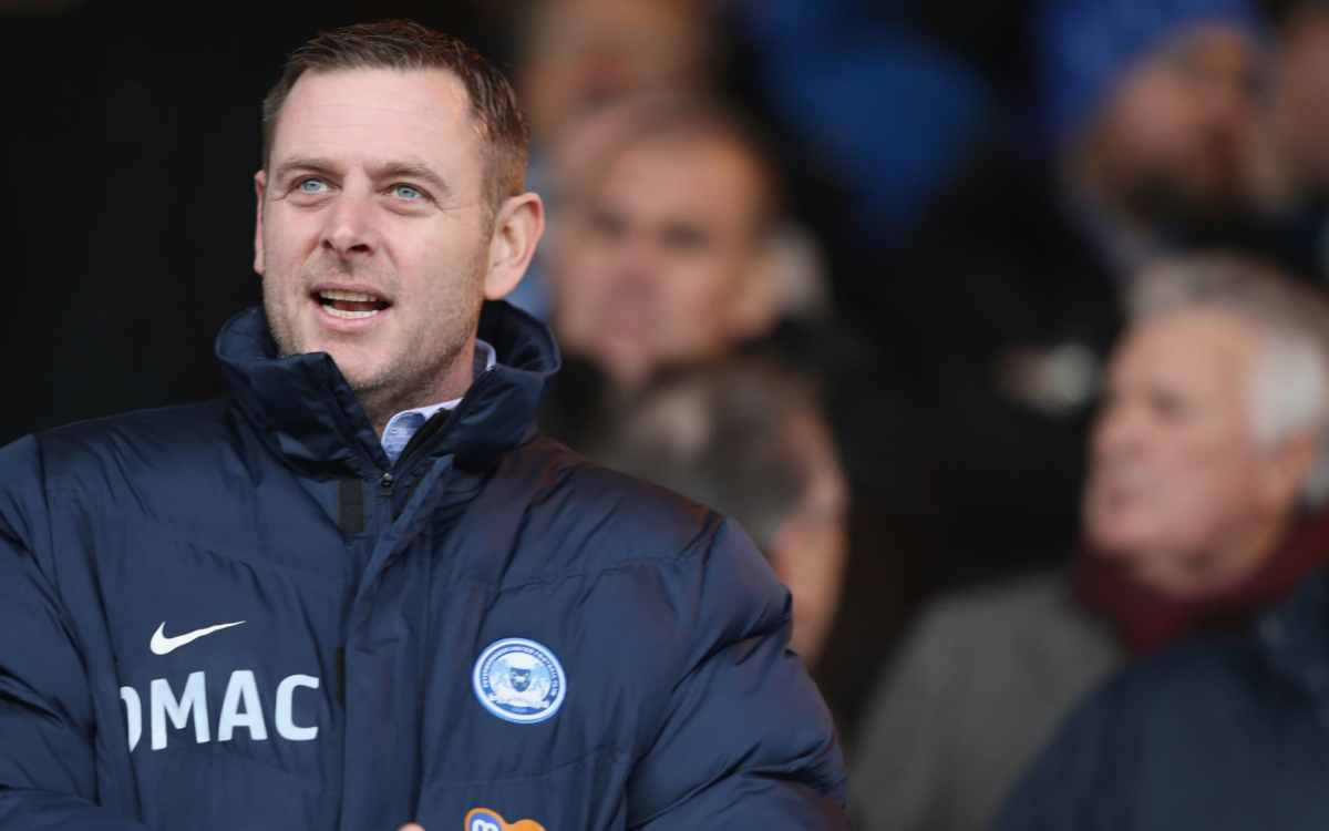 Darragh MacAnthony, chairman of Peterborough United