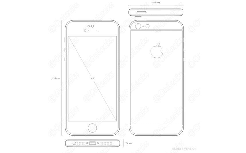 iPhone 5se leaked images reveal what Apple's next phone