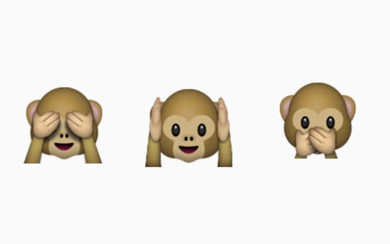 monkey emoji could be