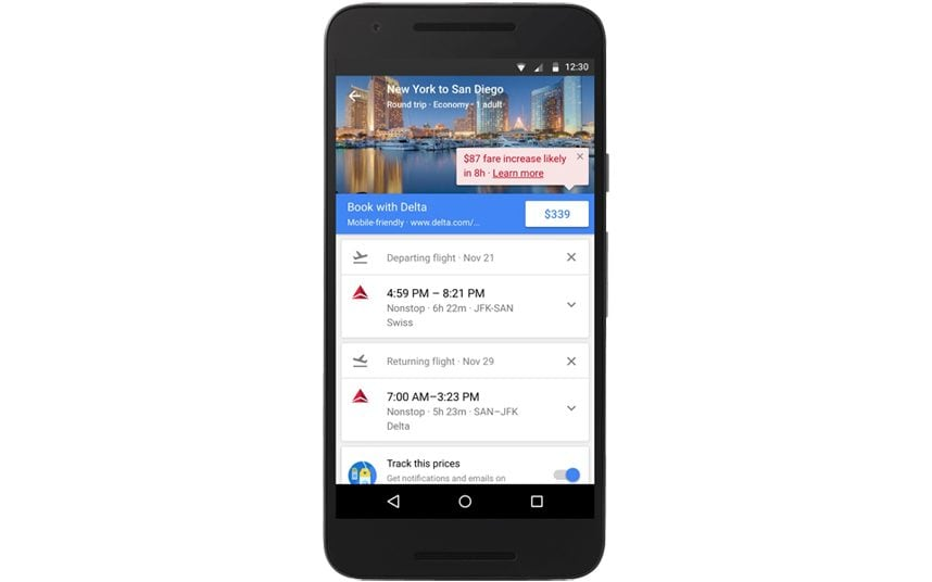 Google will now tell you the cheapest time to buy flights