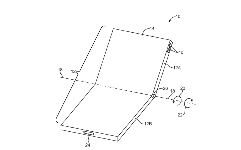 Apple patents folding phone design as rivals ramp up plans