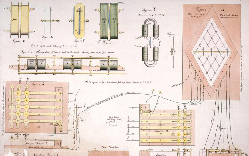 medium resolution of electric telegraph the history of the communications device diagram of electric telegraph
