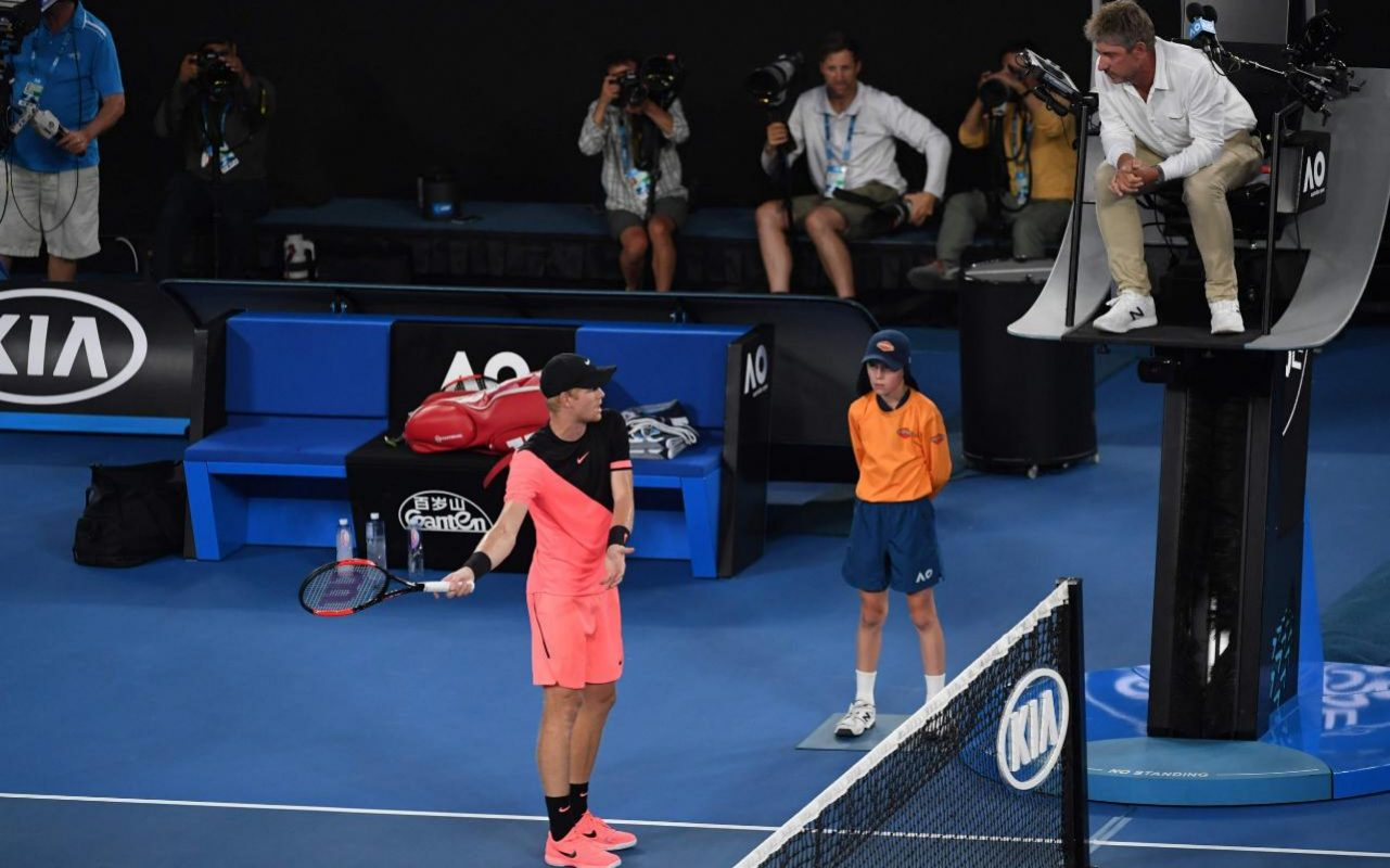 30 second chair stand g code used portable dental 39polite 39 kyle edmund rows with umpire during