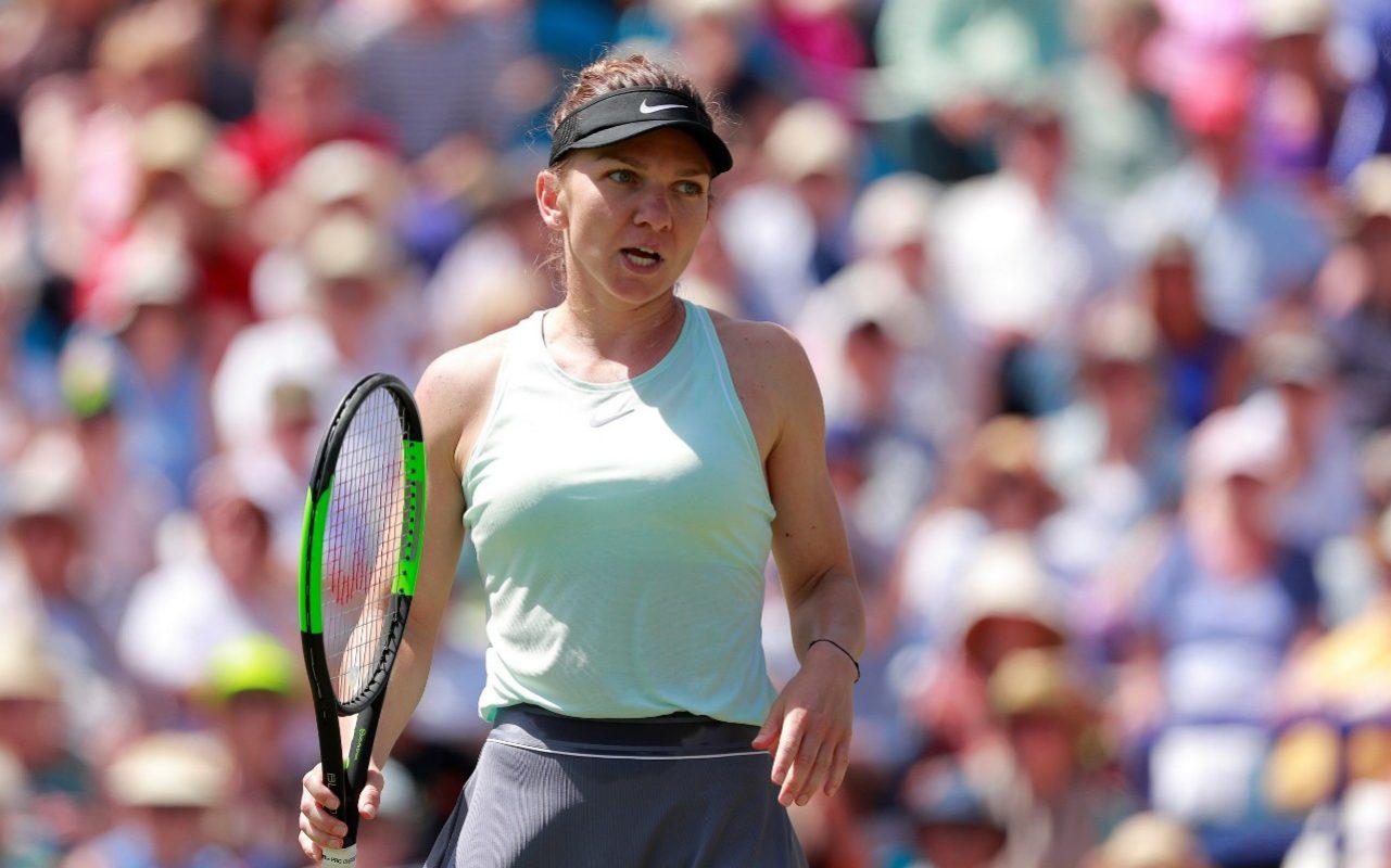 Simona Halep vs Aliaksandra Sasnovich Wimbledon 2019