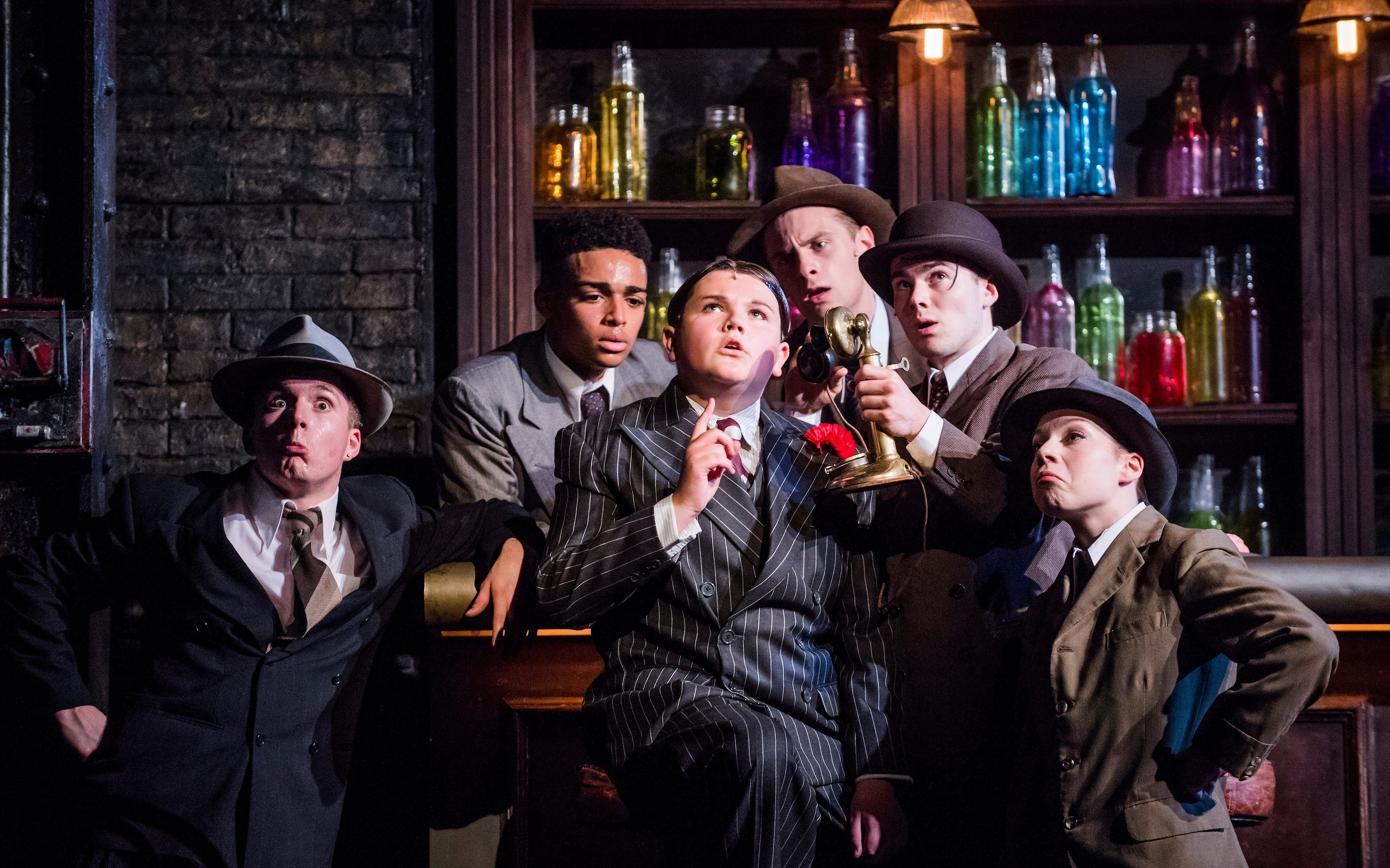 Bugsy Malone Kids Brought The Right Dash Of Humour To This