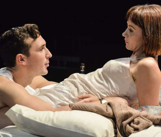 Ben Lloyd Hughes And Claire Lams In Kiss Me At Trafalgar Studios