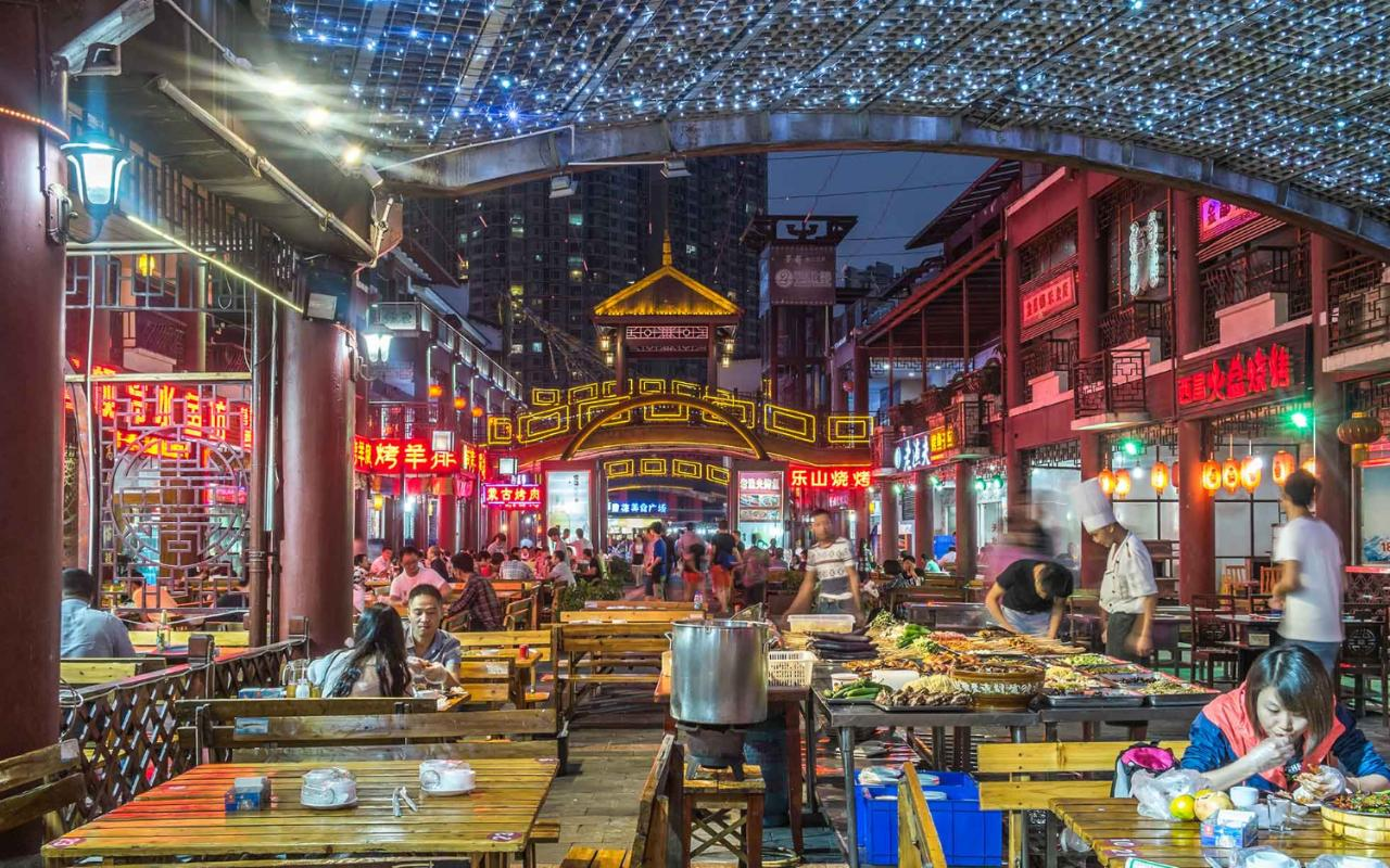 Sichuan restaurants in Chengdu and the UK