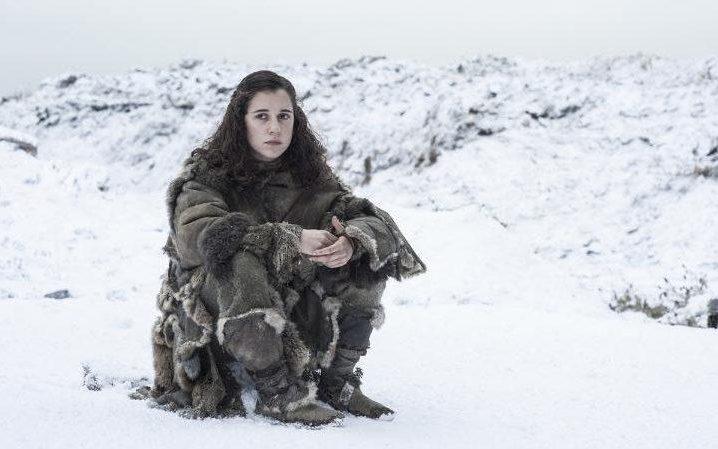 Ellie Kendrick as Meera Reed in Game of Thrones season six, episode two