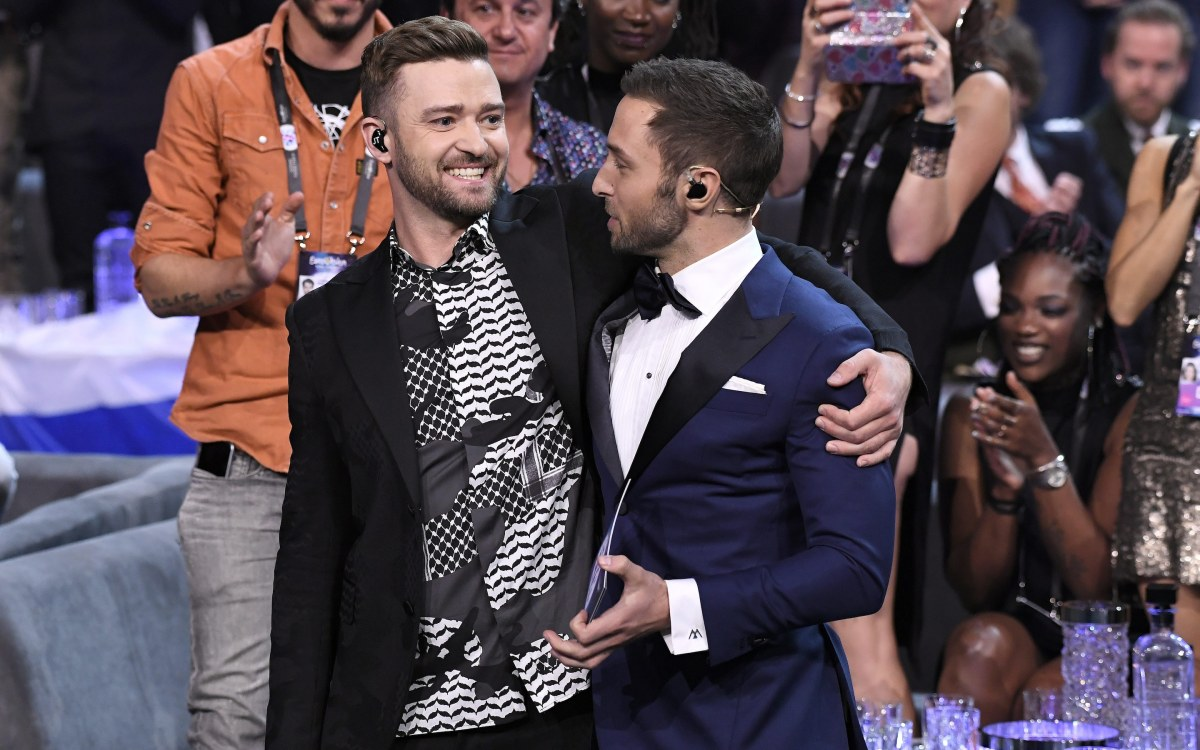 Justin Timberlake was too slick and soulless at Eurovision - review