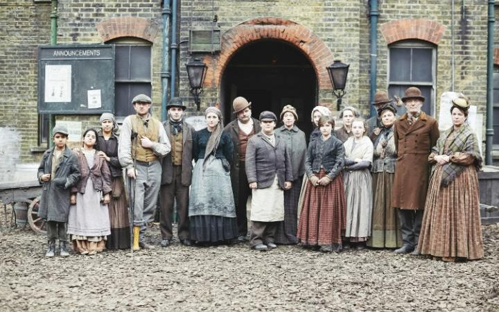 Image result for the victorian slum