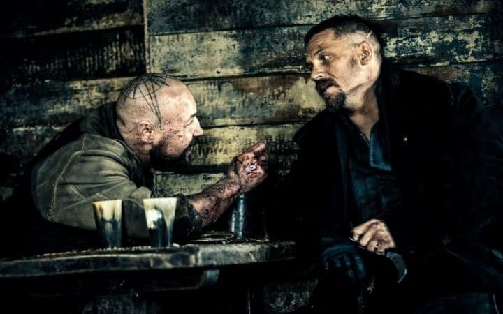 Image result for image of Tom Hardy in Taboo