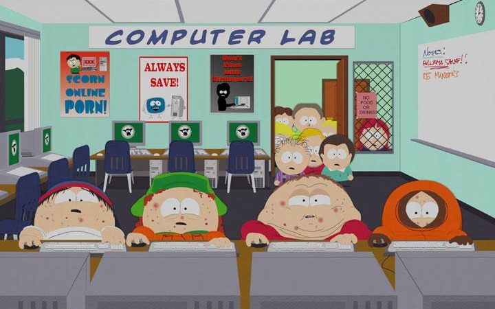 South Park Cartman Computer