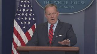 Trump spokesman Sean Spicer apologises for Hitler comments
