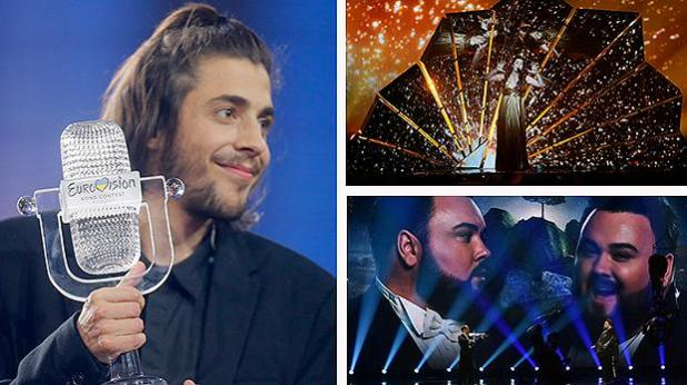 Image result for Portugal wins Eurovision Song Contest for the first time