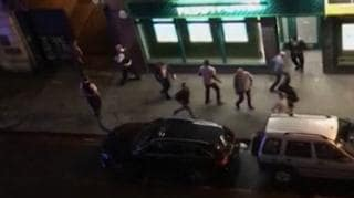 People flee in terror from London attack