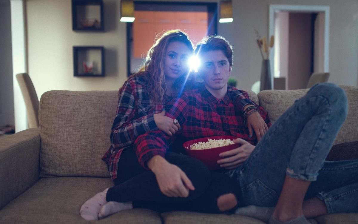 A romantic film about how much you love your partner will go down well