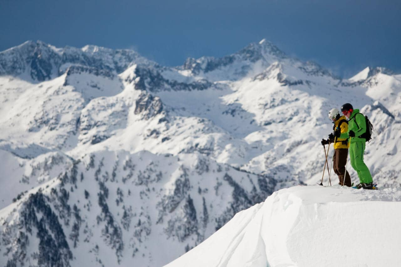 Backcountry Skiing In Baqueira Beret One Of Europe S Most