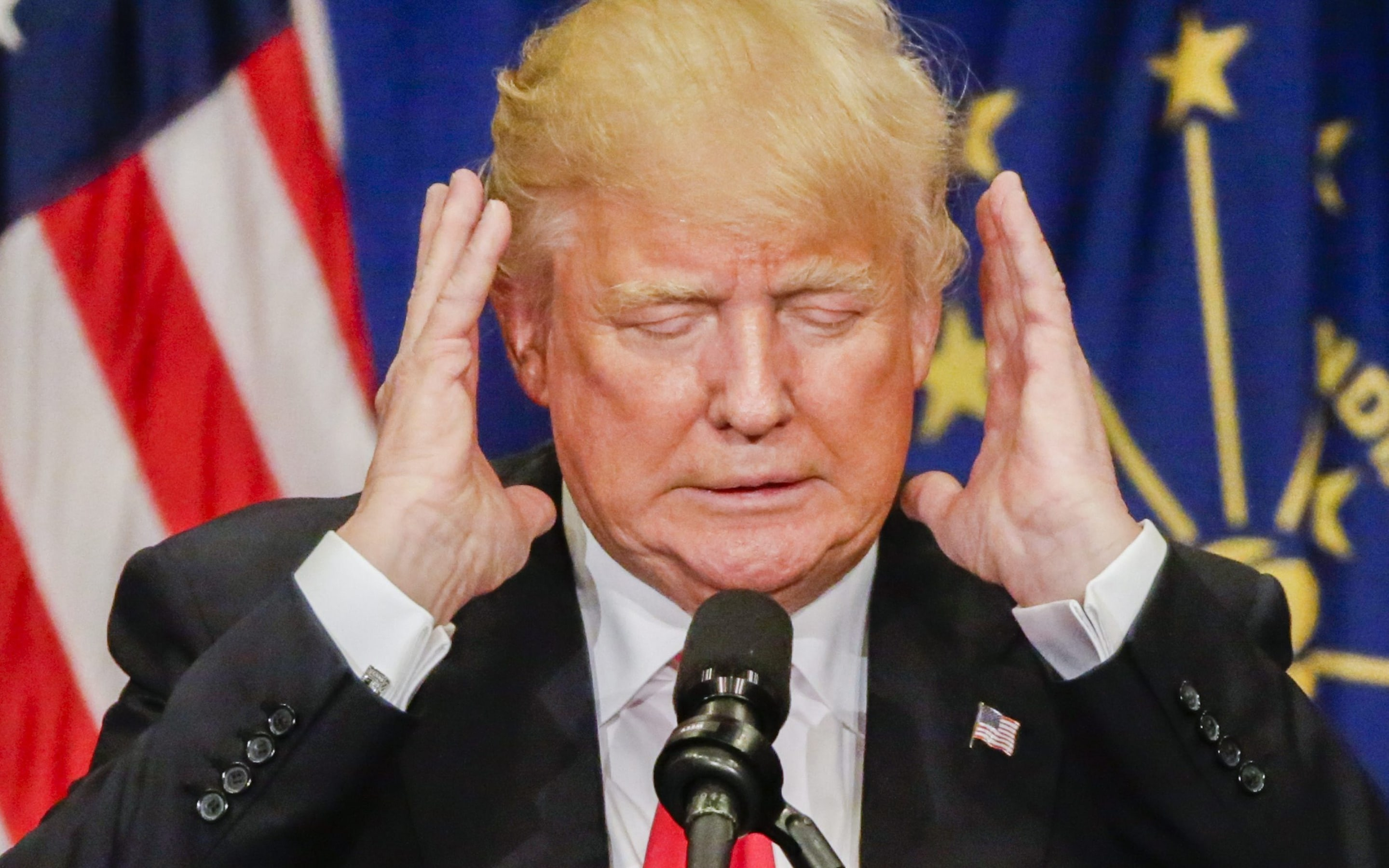 Image result for donald trump embarrassed