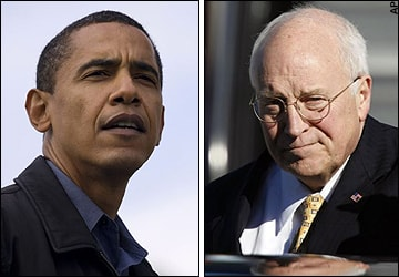 President Obama and Dick Cheney are in a pissing contest over who is right on Gitmo.