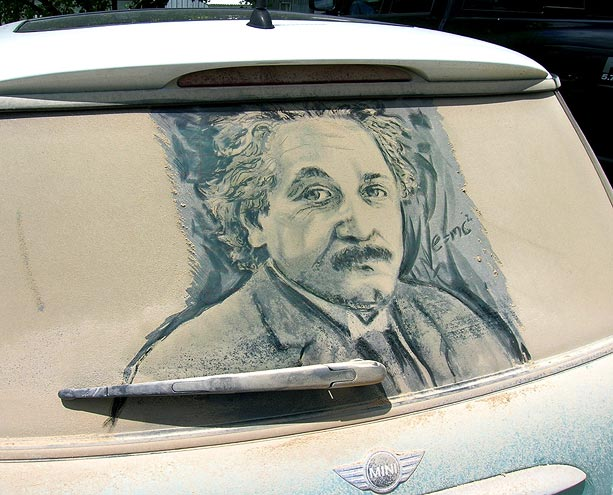 Einstein, by Scott Wade