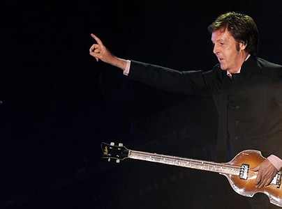 Sir Paul McCartney playing live in Kiev, Ukraine