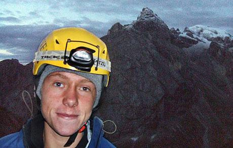 Ian Jackson, 19, from Guisborough, North Yorkshire, who has died in a climbing accident in the French Alps while on holiday with two friends