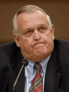 Department of the Interior's inspector general Earl Devaney
