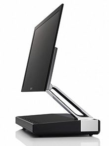 World's thinnest TV ? slimmer than a pound coin, but costing 3,489 of them
