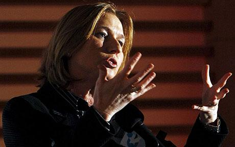 Tzipi Livni: Israel launches covert war against Iran