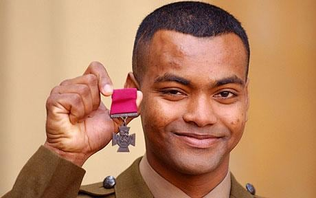 Victoria Cross hero Johnson Beharry condemns 'Government failure' to care for veterans