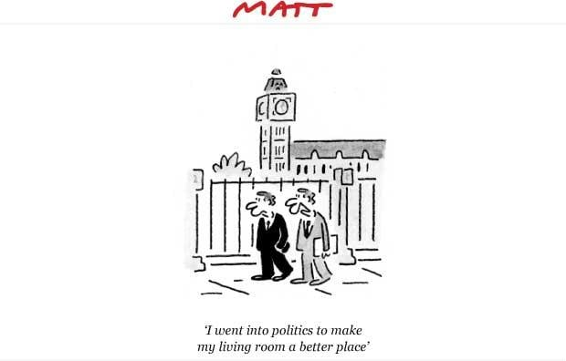 Matt cartoon 9th May 2009