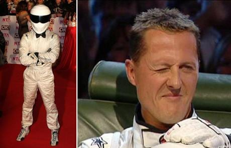 Top Gear's mysterious test driver