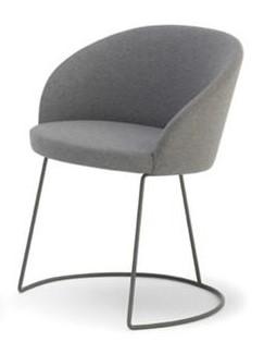 metal armchair chair leg insert caps marilyn sled telegraph contract furniture steel ac