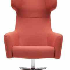 Swivel Chair The Range Dark Green Covers Havana Wing Telegraph Contract Furniture