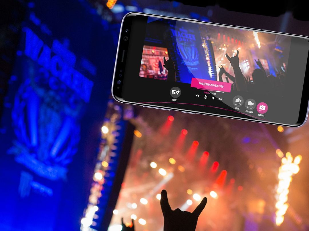 The world's largest heavy metal festival in a live stream and in 360°.