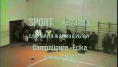 Partita di pallavolo Campoligure - Erika Masone