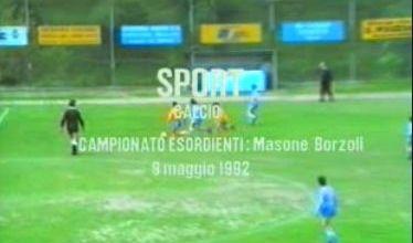 Calcio: Masone - Borzoli