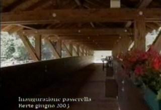 Inaugurazione della Passerella in Bertè